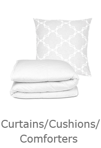 Curtains/Cushions/Comforters